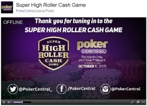 Poker Central's SHR attracted huge debut numbers on Twitch.